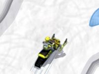Флеш игра Снегоход