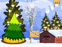 Флеш игра Снегопад на Рождество