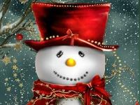 Флеш игра Снеговик