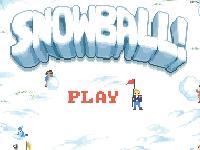 Флеш игра Снежки