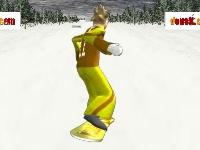 Флеш игра Сноубординг