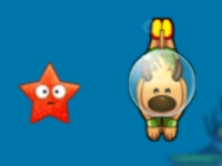 Флеш игра Собачка ныряльщик