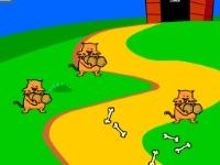 Флеш игра Собака против котов