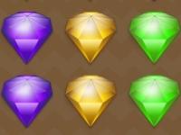 Флеш игра Собери алмазы