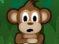 Флеш игра Собери бананы обезьяна