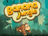 Флеш игра Собери бананы в джунглях