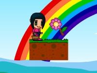 Флеш игра Собери цветочки