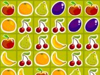 Флеш игра Собери фрукты в саду