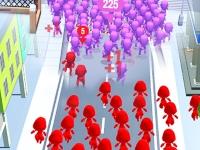 Флеш игра Собери толпу 2