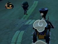 Флеш игра Собери тыквы на Хэллоуин