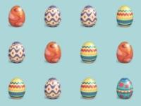Флеш игра Собери яйца на Пасху