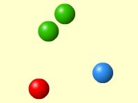 Флеш игра Собери зеленые шары 2