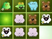 Флеш игра Собери животных в ряд