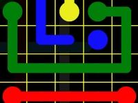 Флеш игра Соедини цветные точки