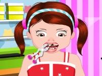 Флеш игра Софи у дантиста