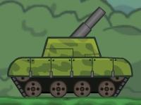 Флеш игра Солдат в танке