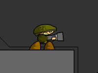 Флеш игра Солдат