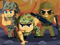 Флеш игра Солдаты, в бой!