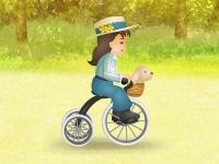 Флеш игра Соревнование на велосипедах