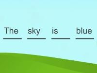 Флеш игра Составь предложение из слов