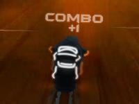 Флеш игра Современная мото гонка