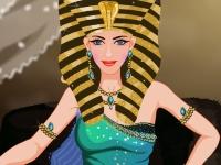 Флеш игра Современный макияж для Клеопатры