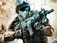 Флеш игра Современный солдат: Пазл