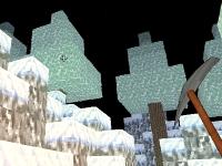 Флеш игра Создай мир в Майнкрафте: Зимний стиль