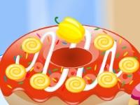 Флеш игра Создай пончик