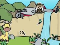 Флеш игра Создай сценку в джунглях