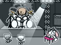 Флеш игра Создай сцену для рок-концерта