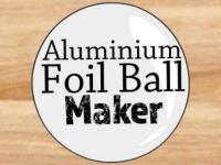 Флеш игра Создай шар из алюминиевой фольги