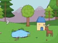 Флеш игра Создай волшебный лес