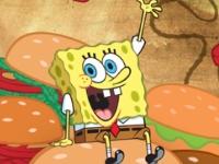 Флеш игра Спанч Боб: Что ты за крабсбургер?