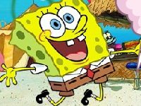 Флеш игра Спанч Боб: Карнавал в Бикини Боттом 1, 2 и 3 части
