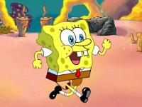 Флеш игра Спанч Боб: Паркур на шариках