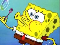 Флеш игра Спанч Боб: Поиск отличий