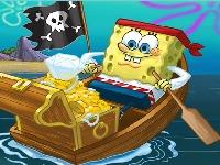 Флеш игра Спанч Боб - моряк: Пазл