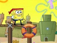 Флеш игра Спанч Боб: спасение Гэри