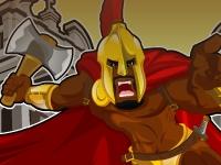 Флеш игра Спартанцы спасают народ от Галлов