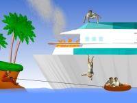 Флеш игра Спасатели на море