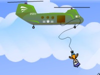 Флеш игра Спасательный банджи