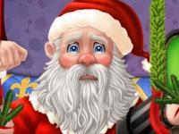 Флеш игра Спасение Деда Мороза