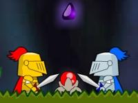Флеш игра Спасение принцессы 2: Летающие рыцари