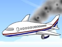 Флеш игра Спасение самолета