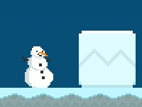 Флеш игра Спасение снеговика
