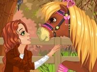 Флеш игра Спасенный пони