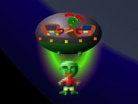 Флеш игра Спаси инопланетян