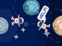 Флеш игра Спаси космонавтов