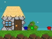 Флеш игра Спаси пиксели